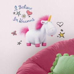Muursticker Despicable Me 3 I Believe in Unicorns