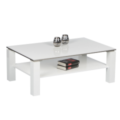 Table basse Barby 110cm - blanc
