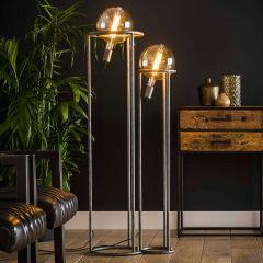 Lampadaire Adeline 2 ampoules Ø20cm