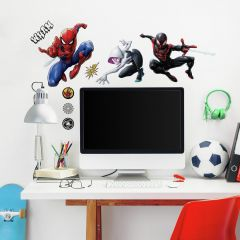 Muurstickers Spider-Man & Miles Morales