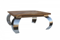Table basse Opium - 130x80 cm - naturel - teck