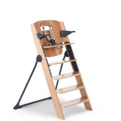 Chaise haute Kitgrow - naturel/anthracite