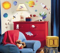 RoomMates stickers muraux - L'espace