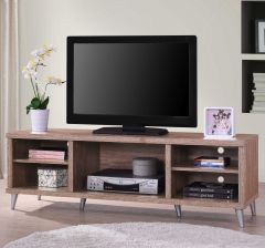 Tv-meubel Konya 142cm - walnoot