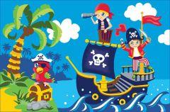 Tapijt Boys - Pirates