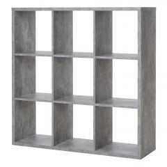 Roomdivider Max 9 vakken - beton