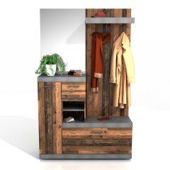 Vestiaire Cristal - verweerd hout