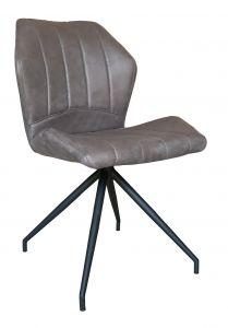 Lot de 2 chaises Viva - gris