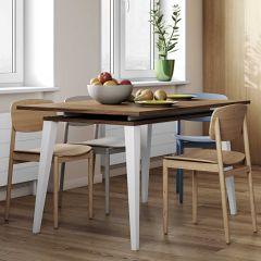 Table extensible Kim 134/174 - noyer