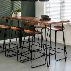 Table de bar Edge 180x70 - acacia