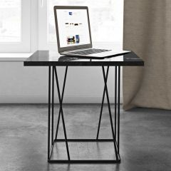 Table d'appoint Helix - marbre noir