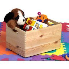 Houten speelgoedkistje Maxine 40x30x24