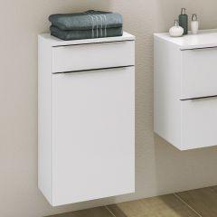 Badkamerkastje Hansen 40cm 1 deur & 1 lade - wit