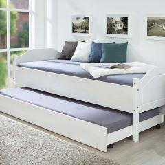 Tiroir de lit 200cm pour lits Interlink - blanc