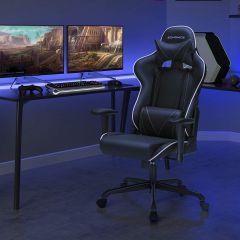 Chaise gamer Torgan - noir