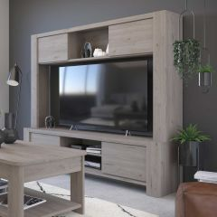 Meuble TV Porto 180cm - gris