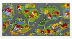 Tapijt Little village – 95 x 200cm