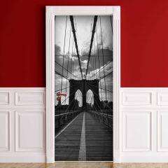 Sticker pour porte Pont de Brooklyn
