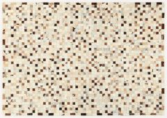 In Leather Patchwork Grey/Beige 300X200