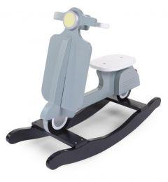 Scooter à bascule - bleu/noir