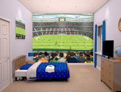 Kinderbehang Voetbalstadion