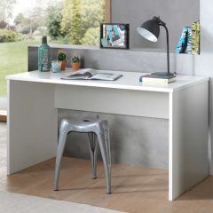 Table de bureau London 140cm - blanc