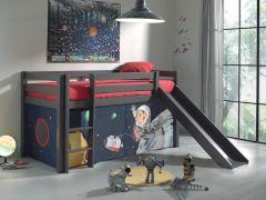 Halfhoogslaper Astrid taupe - space