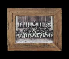 Cadre photo Antiq 55x45 cm - vieux teck