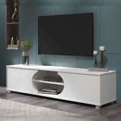 Tv-meubel Dost 160cm met 2 deuren - wit