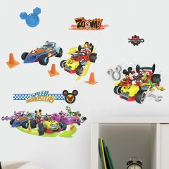 Muurstickers Mickey & The Roadster's Racing League