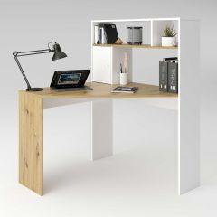 Bureau Conor - oude eik/mat wit