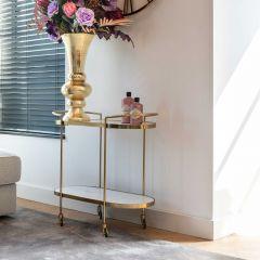 Trolley Bimba - goud/wit