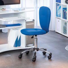 Chaise de bureau Mali - bleu
