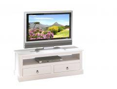 Tv-meubel Provence 2 laden 118cm - wit