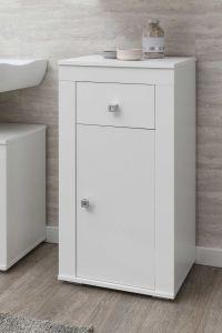 Badkamerkastje Rutger 1 lade & 1 deur - wit