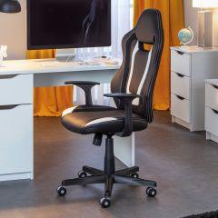 Chaise de bureau Cool Life - noir/blanc