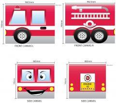 Tente de lit Pompier