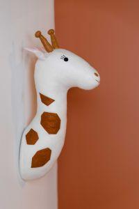 Girafe en feutre