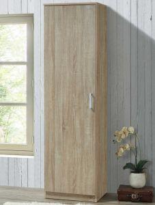 Kledingkast Lias 1 deur & 42 cm diep - bruin