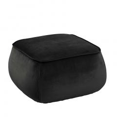 Pouf Mirza 60x60 - gris foncé