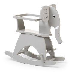Cheval à bascule en forme d'éléphant