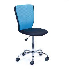 Chaise de bureau CC - noir/bleu