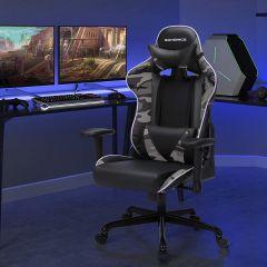Chaise gamer Torgan - noir/camouflage