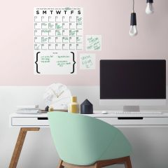 Sticker mural Dry Erase Calendar