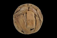 Boule décorative Bamba ø30 cm - teck