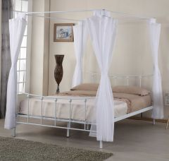 Hemelbed Amore 160x200 - wit