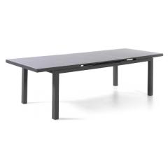 Verlengbare tuintafel Calvi 220/280 - antraciet