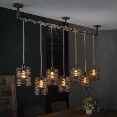Hanglamp 7L twist wikkel XL - Slate grey