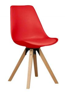 Chaise Cley - rouge