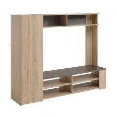 Tv-meubel Fumay 165cm - bruin